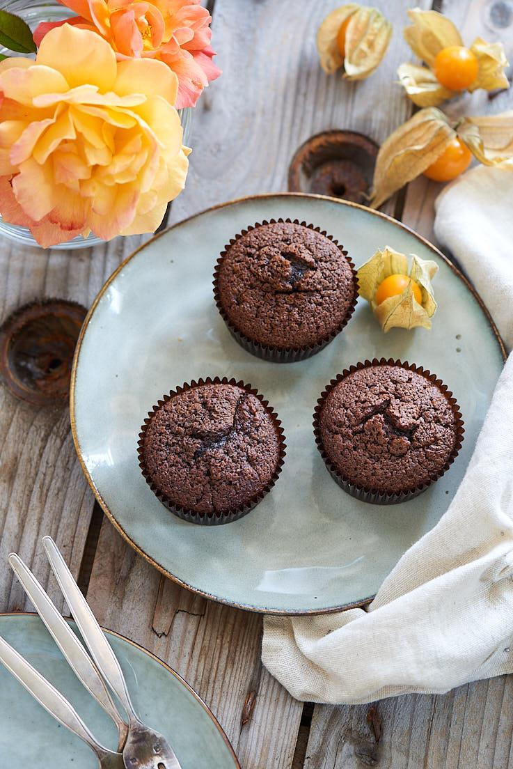 Délicieux muffins au chocolat