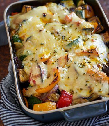 recette de gratin de légumes d'été