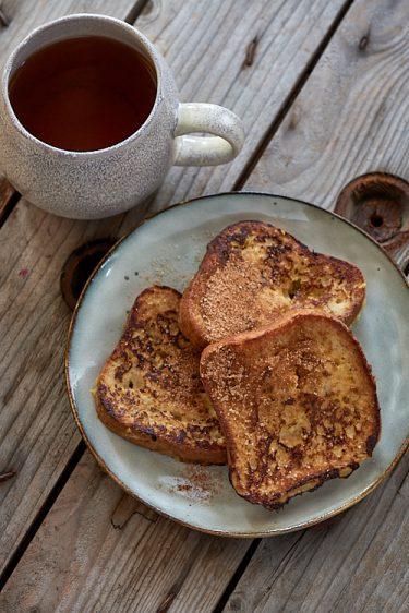 recette de pain perdu à la cannelle sans gluten
