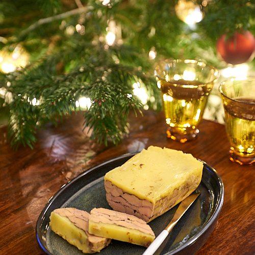 recette de foie gras au cacao