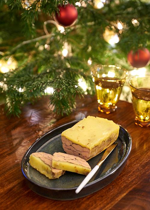 recette de Terrine de foie gras au cacao