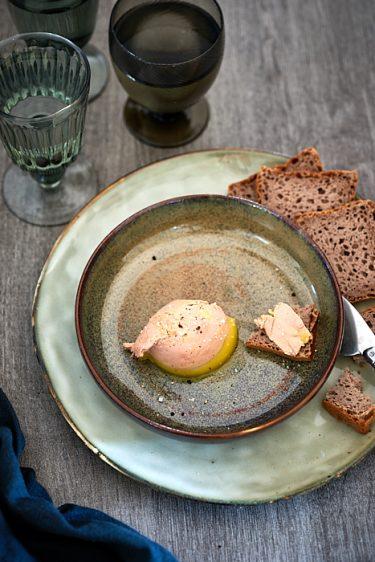 recette de terrine de foie gras selon JF Piège