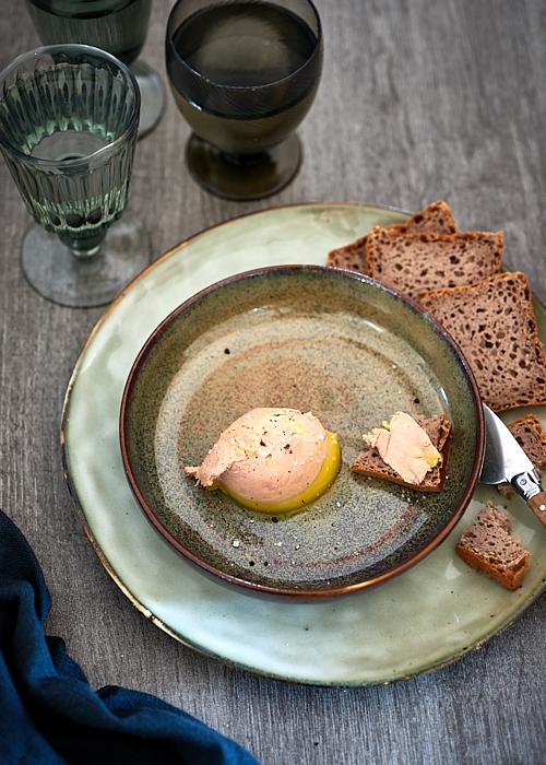 Foie gras selon Jean-François Piège