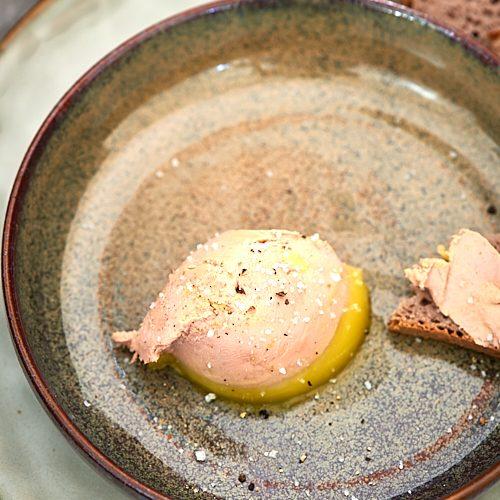 recette de foie gras de JF Piège