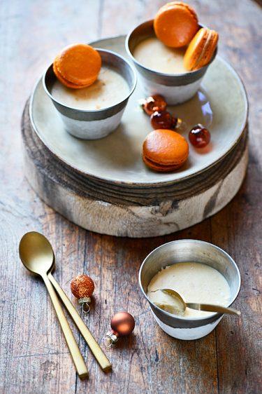 recette de parfaits à l'orange