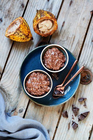 recette de riz au lait au chocolat