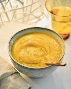 recette de soupe de courge de Nice à la polenta