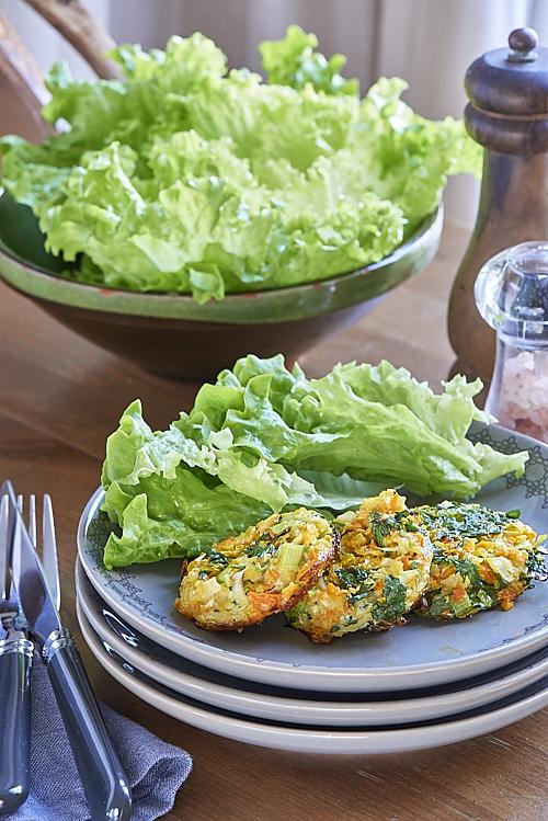 Galettes de légumes au four