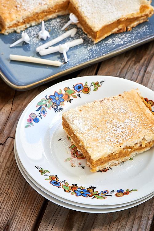 photo d'une part de gâteau le Russe