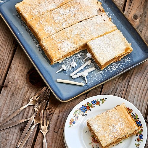 recette de Russe gâteau béarnais à la crème pralinée