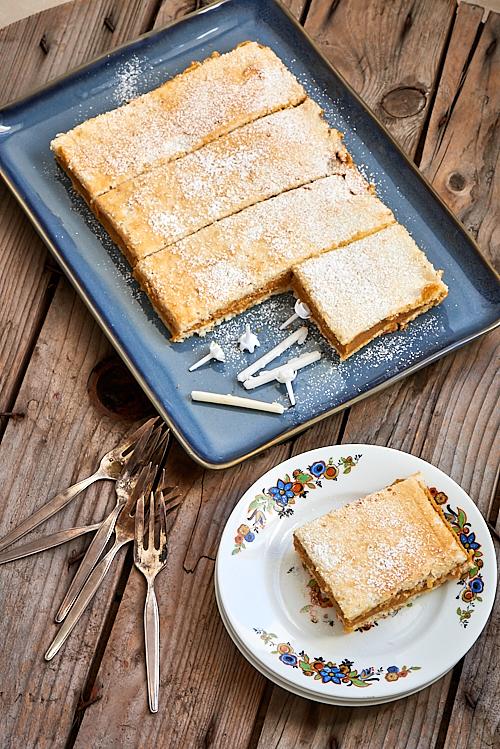 recette du Russe, gâteau bearnais au praliné