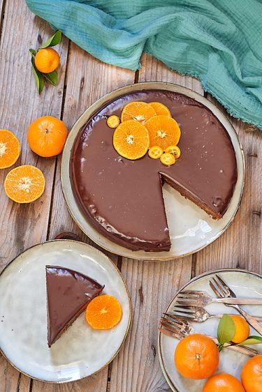 recette de Sachertorte à la mandarine