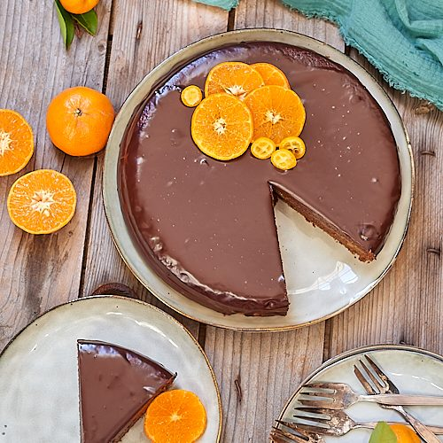 Sachertorte à la mandarine