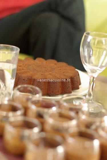 recette de gâteau au chocolat et marmelade d'orange