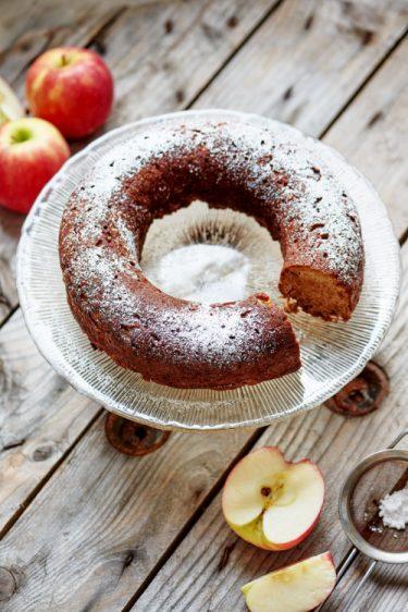 recette de gâteau pommes cannelle