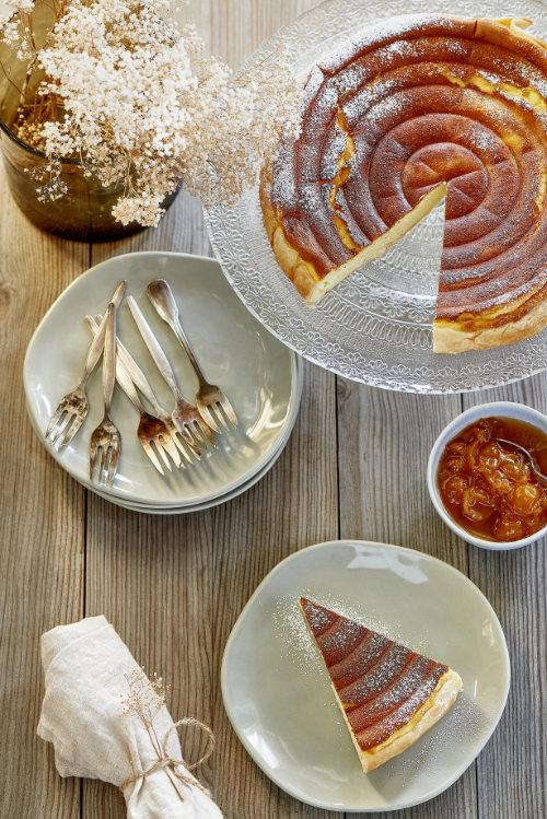 Tarte alsacienne au fromage blanc