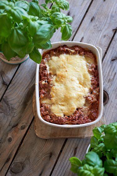 recette de lasagnes sans gluten