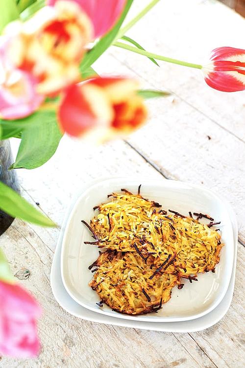 recette de rösti carottes et pommes de terre