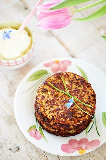 recette de rostis céleri pommes de terre