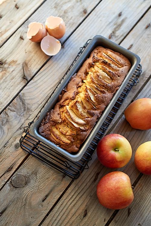 recette de cake aux pommes sans gluten