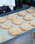 recette de cookies sans gluten aux trois chocolats