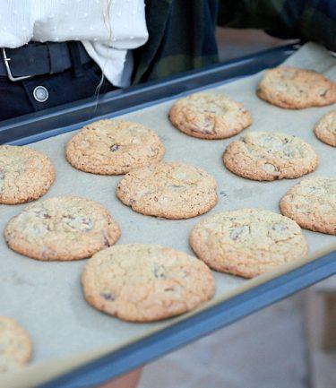 recette de cookies aux pépites de chocolat sans gluten