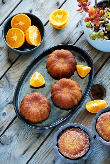 recette de quatre-quarts à l'orange sans gluten de Pierre Hermé