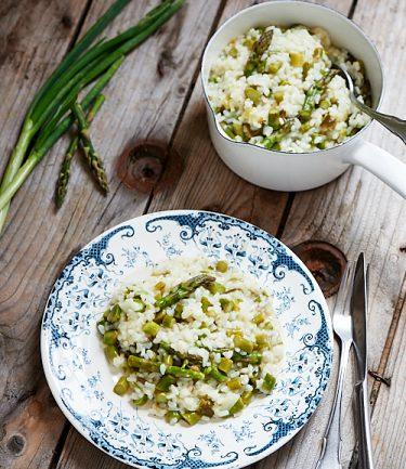 recette de risotto aux asperges