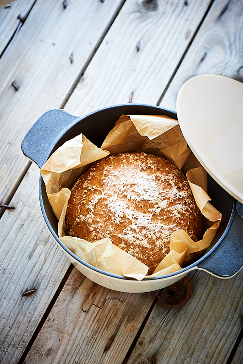 recette d'un pain cocotte au levain