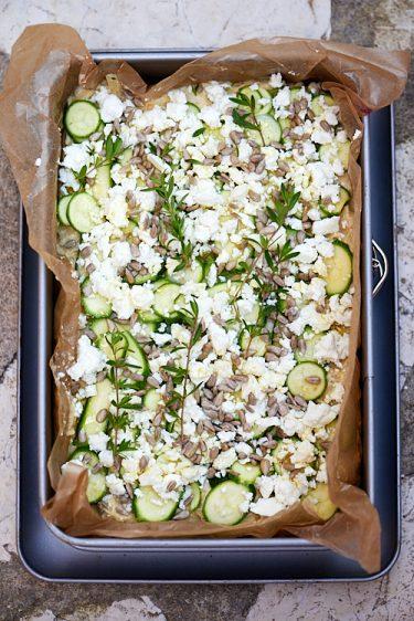 recette de pain de pomme de terre à la féta et aux graines