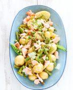 recette de salade de pommes de terre au saumon