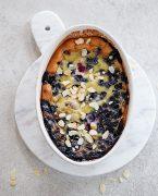 recette de clafoutis cerises et myrtilles