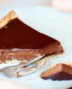 recette de tarte au chocolat d'Amandine Chaignot