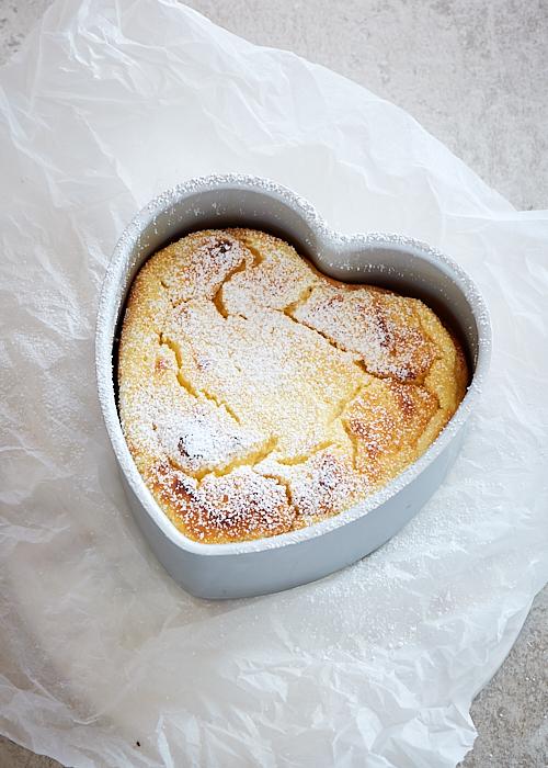recette de Gâteau soufflé à la ricotta