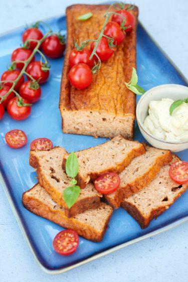 recette de pain de thon à la tomate