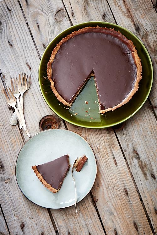 Tarte au chocolat d'Amandine Chaignot
