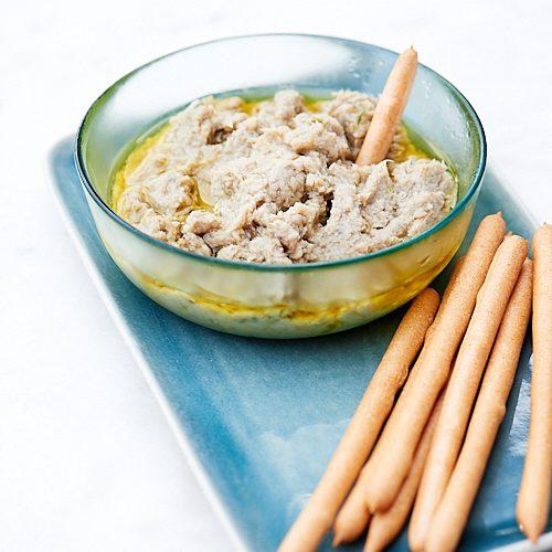 recette de tartinade grecque à l'anchois
