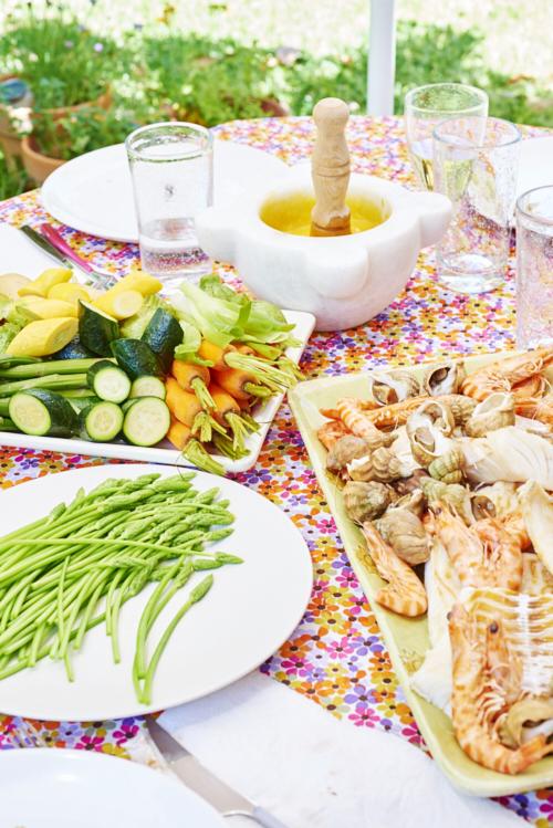 recette d'aioli provencal aux courgettes
