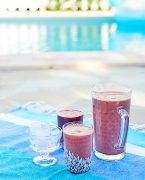 recette de smoothie à la myrtille et au yaourt