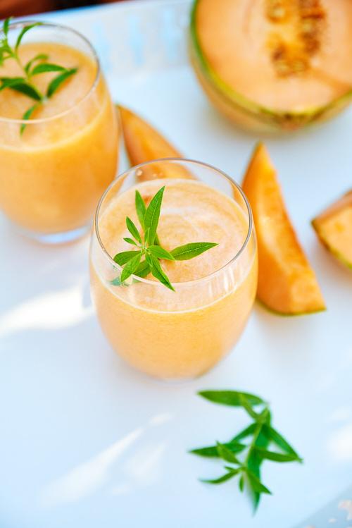 agua fresca melon verveine
