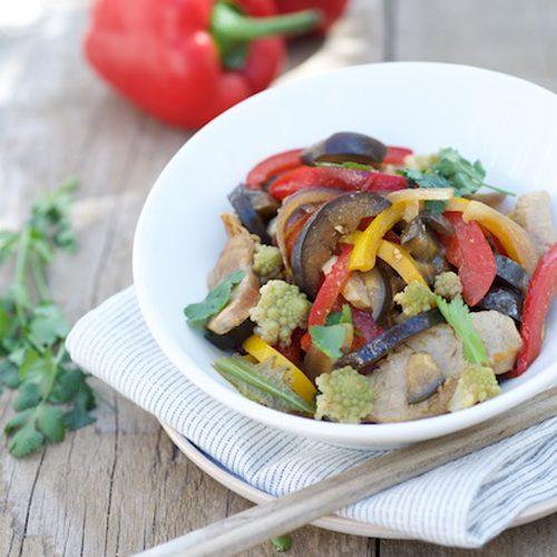 recette de salade de thon, légumes d'été