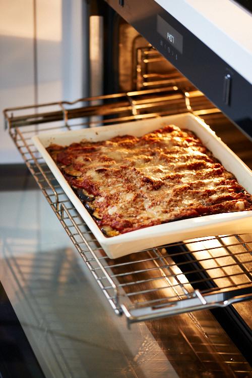 recette de parmesane d'aubergine