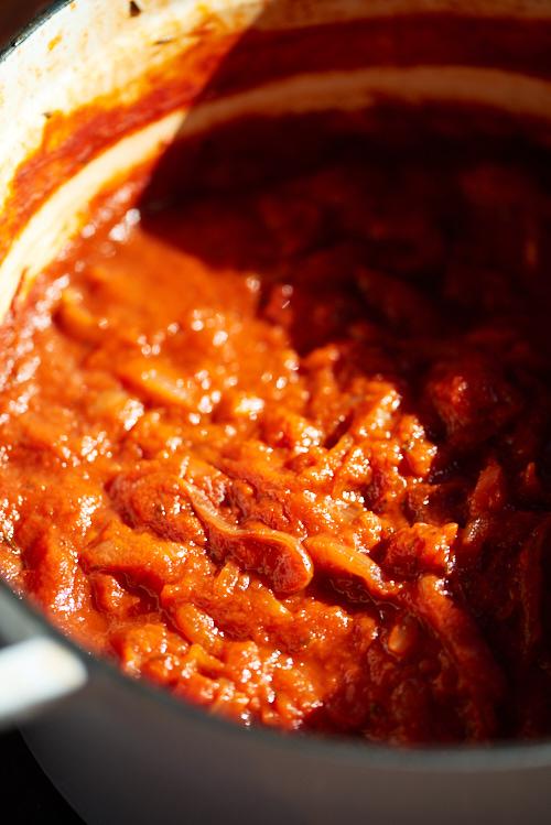 recette de sauce tomate simple