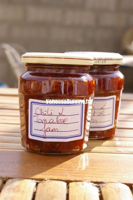 Chili tomato jam