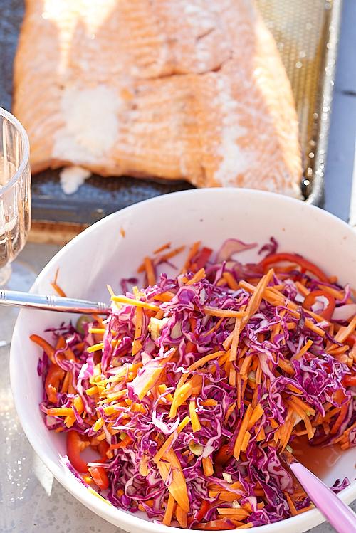 salade chou rouge japon