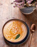 recette de soupe de courge à la tomate