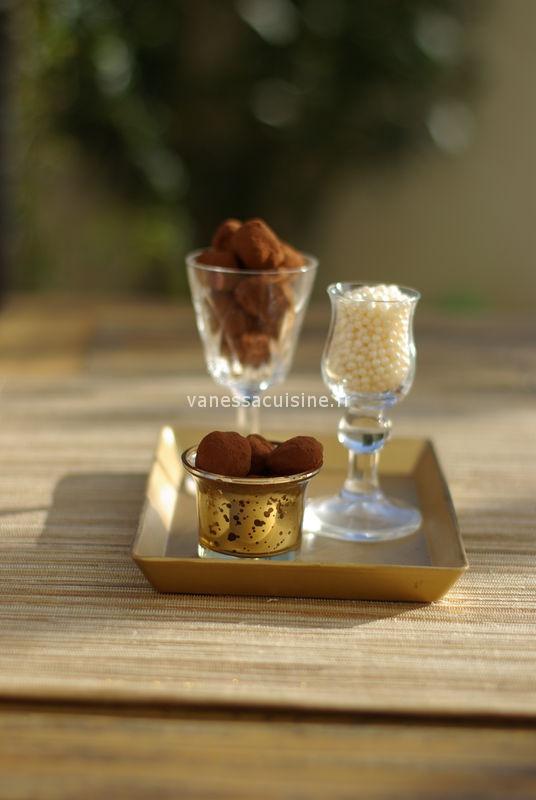 truffes noel chocolat
