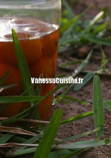 recette de vinaigre aux kumquats