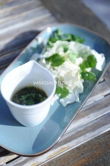 recette de vinaigrette légèrement thaïe