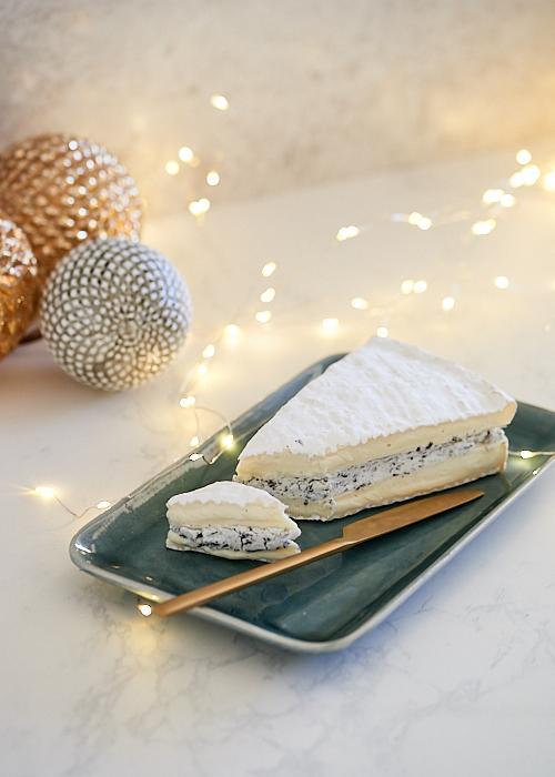 Recette de Brie à la truffe